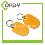 13.56MHz RFID FOB chave Keychain para o controle de acesso