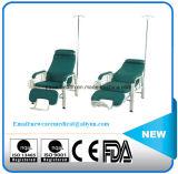 Silla de la infusión del acero inoxidable de los muebles del hospital