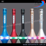 Популярный игрок K1 Bluetooth микрофона Karaoke Handeld