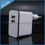 5V 2A EU Plug Dual USB Wall Charger for iPhone iPad Manufacturer (WP-017)