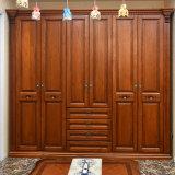 Giro de estilo europeo, armario de madera sólida (YH-W3016)