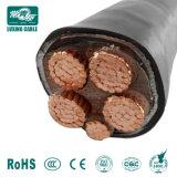 240 metros cuadrados de 4 núcleos XLPE mm cable blindado 0.6/1kv de cable de alimentación de aluminio/cobre Swa/Sta Blindó El Cable Eléctrico Precio por metro