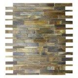 telha do mosaico do vidro manchado do material de construção de 3mm para a parede da casa