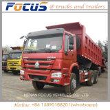 vrachtwagen van de 336HP371HP Sinotruk HOWO 6X4 de de Op zwaar werk berekende Stortplaats/Vrachtwagen van de Kipper