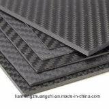 Feuille 3k de panneau de plaque de fibre de carbone mate/lustrée