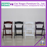 Almofada romântica Cadeira de casamento branco /Cadeira de casamento/Hotel cadeira dobrável