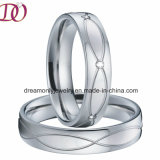 New Arrival Europe Style Love Pair Rings 316L Stainless Steel Ring