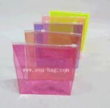 De aangepaste Kleurrijke Plastic Norm van het Bereik van de Zak van de Ritssluiting van pvc van de Zak van de Las van pvc