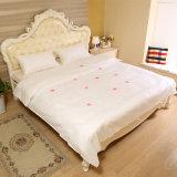 Los surtidores de China ajustaron la hoja de base fijada para ropa de cama disponible del hotel de cinco estrellas