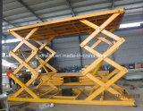Levage hydraulique de stationnement de véhicule de modèle de ciseaux (SJG)