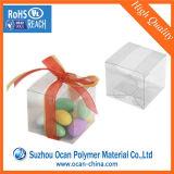まめの装飾的な包装のための光沢のある透過PVCシート