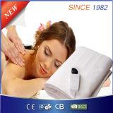 Coperta elettrica con il calcolatore che registra regolatore per ottenere il massaggio