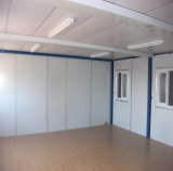 Camera vuota del contenitore dell'ufficio del contenitore di norma ISO Di 20FT
