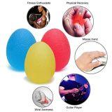 Splat TPR si distende il colore giallo della sfera dell'uovo di distensione della tensione