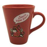 Mok van de Koffie van de Mok van de Vorm van de Trechter van de douane de Ceramische