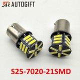 Selbst-LED-Birnen S25 Ba15s 1156 1157 21SMD 7014 backup Birnen des Endstück-LED