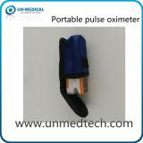 Oxímetro do pulso da ponta do dedo do OEM com indicador de diodo emissor de luz