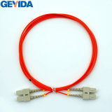 Sc Duplex mm cable de conexión de fibra óptica