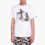 Promotion d'impression d'encre de qualité supérieure 100% Coton T-Shirt