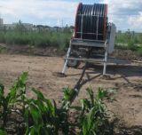 Máquina da irrigação do carretel da mangueira