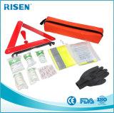 Kit de primeros auxilios de automóvil / kit de emergencia en carretera