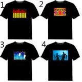 Camisetas sanas de la respuesta del EL de la guitarra de la roca