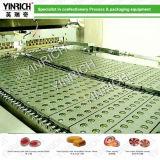 Línea de depósito del caramelo duro del servocontrol del PLC (GD1200-SERVO)