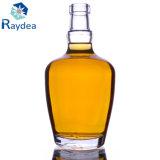 Glasflasche des Zoll-700ml im hohen Feuerstein-Glas