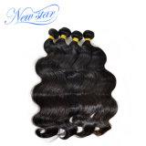 """I nuovi capelli del Virgin della stella che tessono l'onda peruviana 4 del corpo impacchettano i capelli umani che non trattati di 100% spesso di trama impacchetta 10 """" - 34 """""""