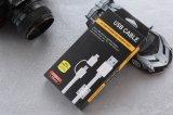 2 в 1 поручая кабеле USB Sync с магнитным кольцом