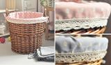 Eco-Friendly (BC-ST1019)를 가진 Handmade Wicker Storage Basket