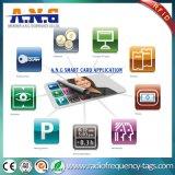 Ntag216水晶エポキシRFID NFCのこつの札