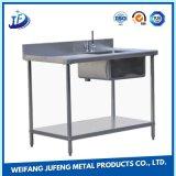 Das Präzision CNC-Metall, das Küche-Waren stempelt, sondern Edelstahl-Wanne aus