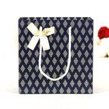Elegante bolso de compras de papel personalizado