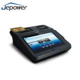 3G GPRSのカメラのカード読取り装置が付いている顧客用POSシステム人間の特徴をもつタブレット