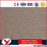 No hay amianto de impresión de larga duración patrón de pared exterior Junta decorativa