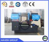 Double-Column automática Máquina de aserrado de la banda de corte de metales