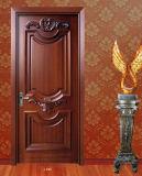 La porte classique en bois plein de 100%, mettent le feu à la porte évaluée avec le certificat des BS 476