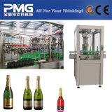 Enchimento automático de champanhe ou Vodka planta por garrafa de vidro