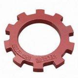 Carcaça de areia vermelha da engrenagem de anel feita do aço