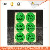 De hete zelfklevende Sticker van de Prijs van de Fabriek van het Ontwerp van de Douane van de Prijs van de Verkoop Goede
