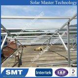Flaches Dach-Solarmontage Solar-PV hängt Zahnstangen-Montierungs-Sonnenenergie-Stromnetz ein