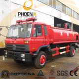 Dongfeng tanque de agua de lucha contra incendios 4X2 Camión
