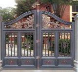 El polvo galvanizado cubrió diseños al por mayor residenciales del tubo principal de la puerta de desplazamiento