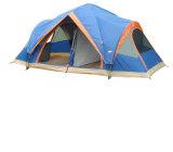 二重層ポリエステル5-8人のキャンプテント