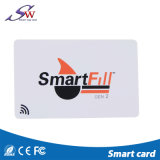 Version imprimable MHz 13.56F08 vierge d'identification du personnel de carte RFID en PVC