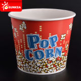El papel impreso de la marca personalizada de las palomitas de maíz de la Copa de pollo