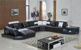 Casa moderna de sección Sala de estar sofá de cuero