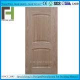 Ligne convexe soulevées en bois de placage HDF moulé de la peau de porte