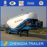 Venta caliente del acoplado a granel del cemento de los árboles 55cbm de la fábrica 3 de China
